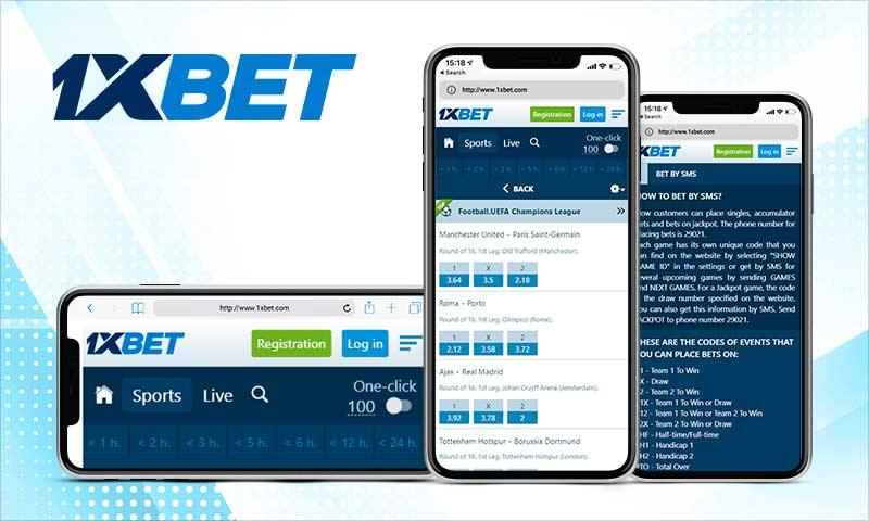 Bet with 1xBet App latest version